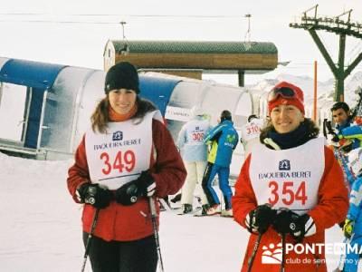 Esquí Baqueira; rutas montaña; club montaña madrid